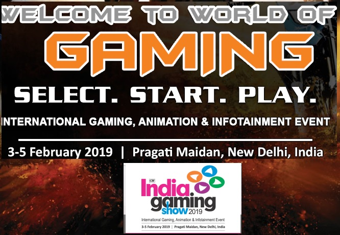 India Gaming Show 2019 to Tap Many Attractive Businesses